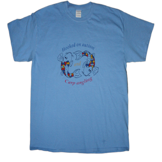 Picture of Hooked on Autism Tshirt